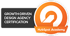 Growth Driven Design Agency Certification