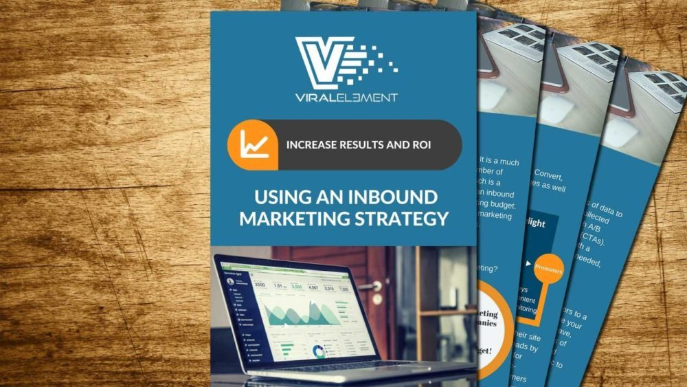 Free Viral Element e-book with information about inbound marketing.