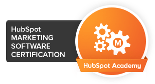 HubSpot marketing software badge