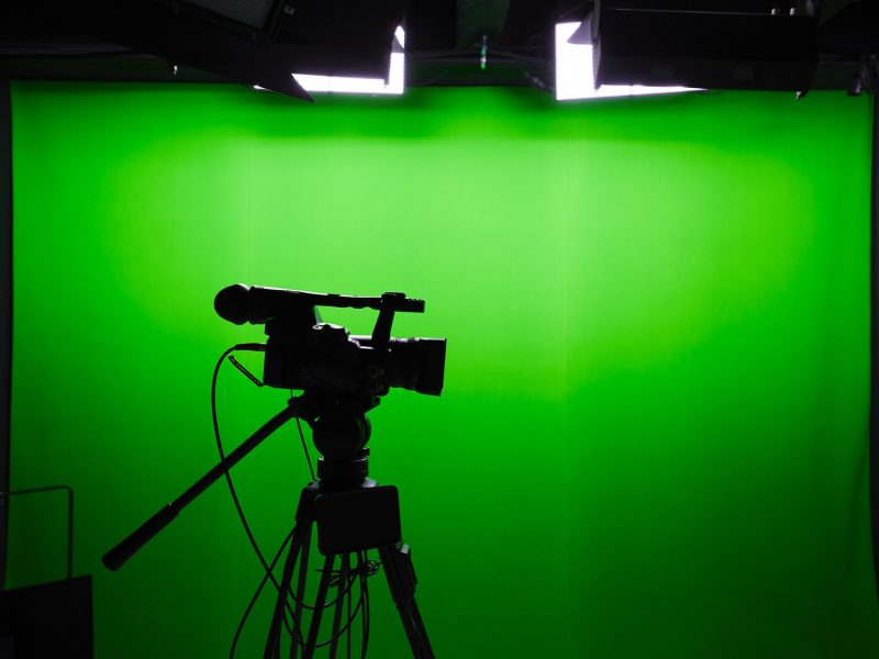Green screens can do wonders for high-end productionon a budget.