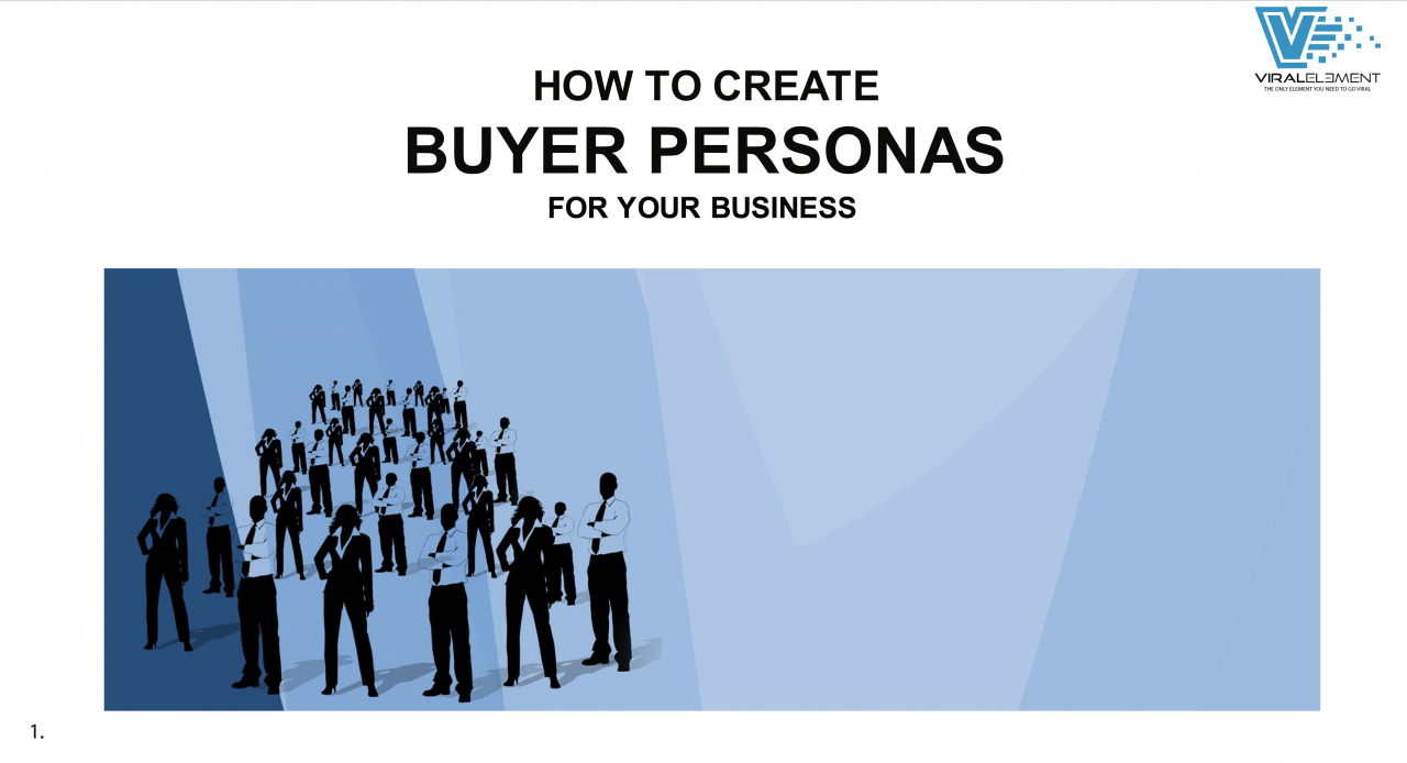 How to Create Buyer Personas for Your Business Cover Page